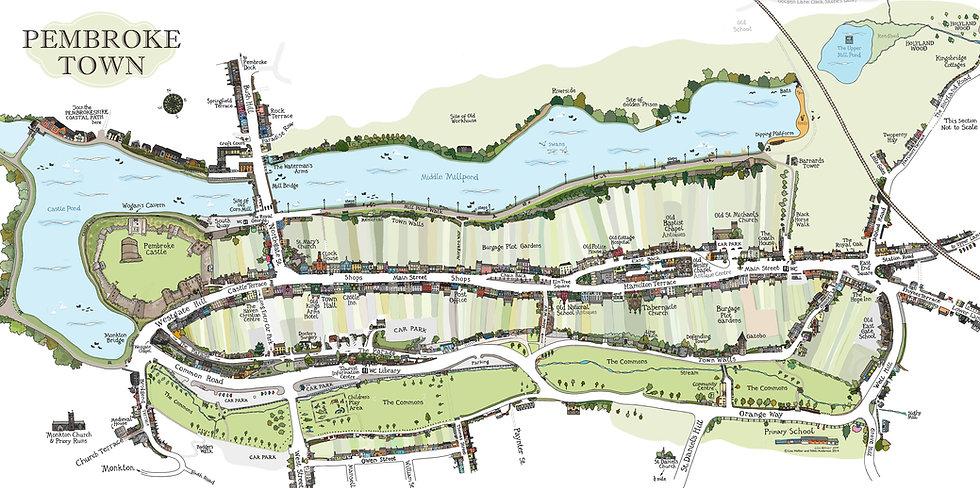 Pembroke Town Map