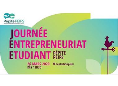 Journée Entrepreneuriat Étudiant 2020