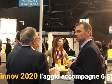 Techinnov 2020 : l'Agglo accompagne 6 startups du territoire