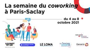 Participez à la semaine du coworking à Paris-Saclay du 4 au 8 octobre