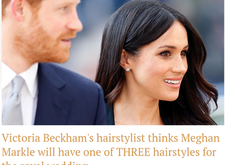 Press Coverage: Meghan Markle's Wedding Hair on Hello!