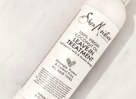 SheaMoisture Coconut Oil Leave-In Conditioner - Leave-In Treatment for Hair