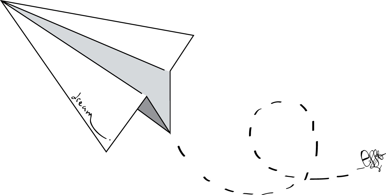 DREAM PAPER AIRPLANE