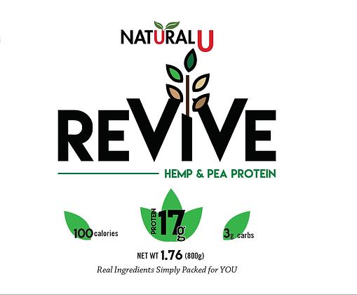 ReVive Hemp & Pea Protein Powder