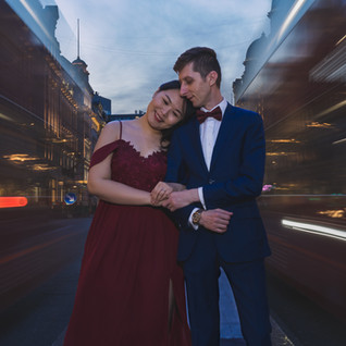 wedding regent street couple london