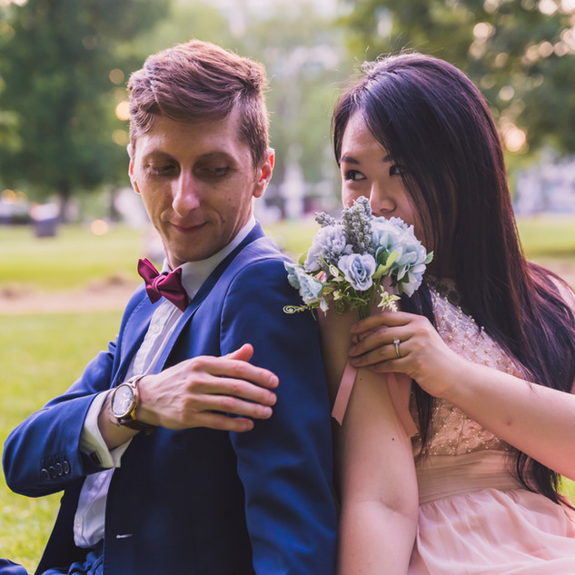 wedding st james park london