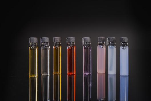 Photo perfume samples