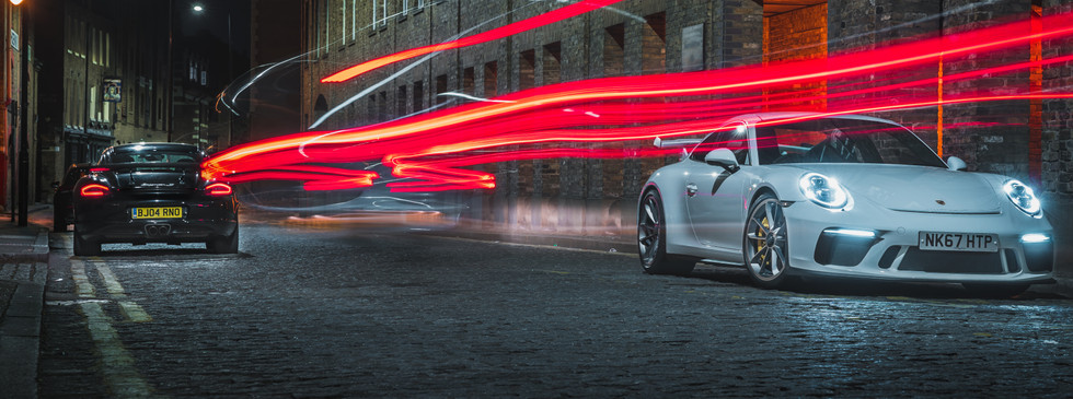 Porsche 911 GT3 Long Exposure