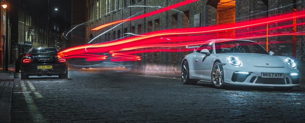 Porsche 911 GT3 Long Exposure