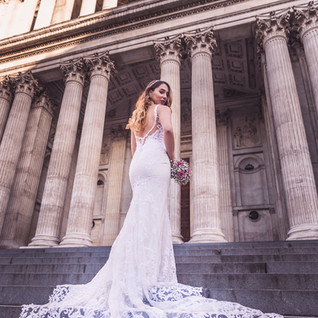 st paul cathedral wedding dress