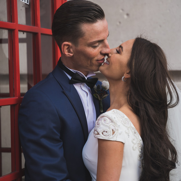 wedding london red photo booth