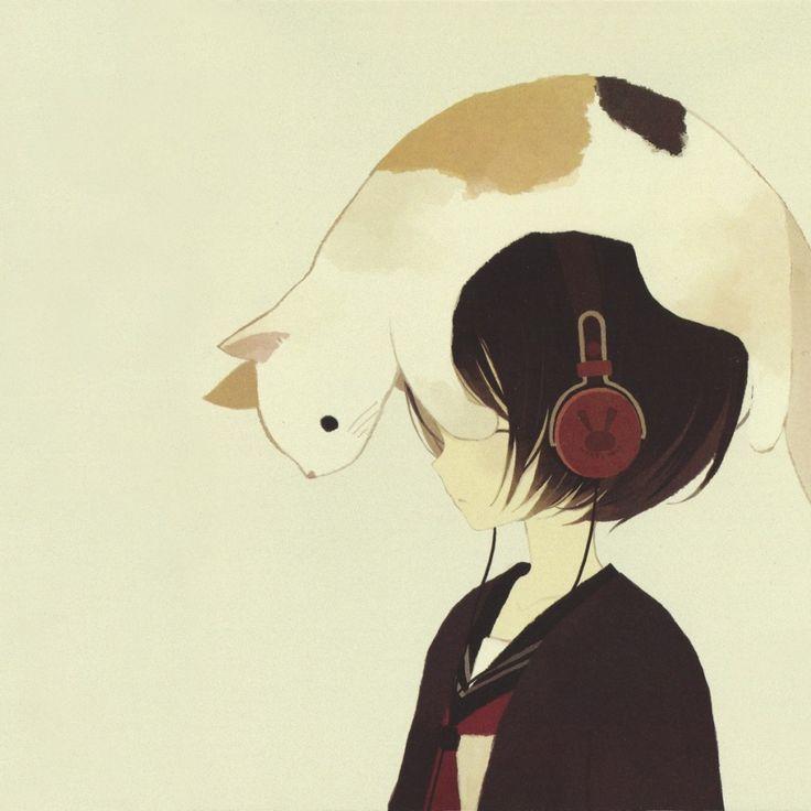 Musical cat girl