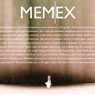 Memex - Explanation of Origin