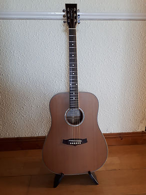 Tanglewood acoustic guitar - LEFT HANDED