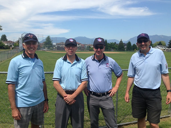 Jericho Baseball Little League volunteer Umpires 2014