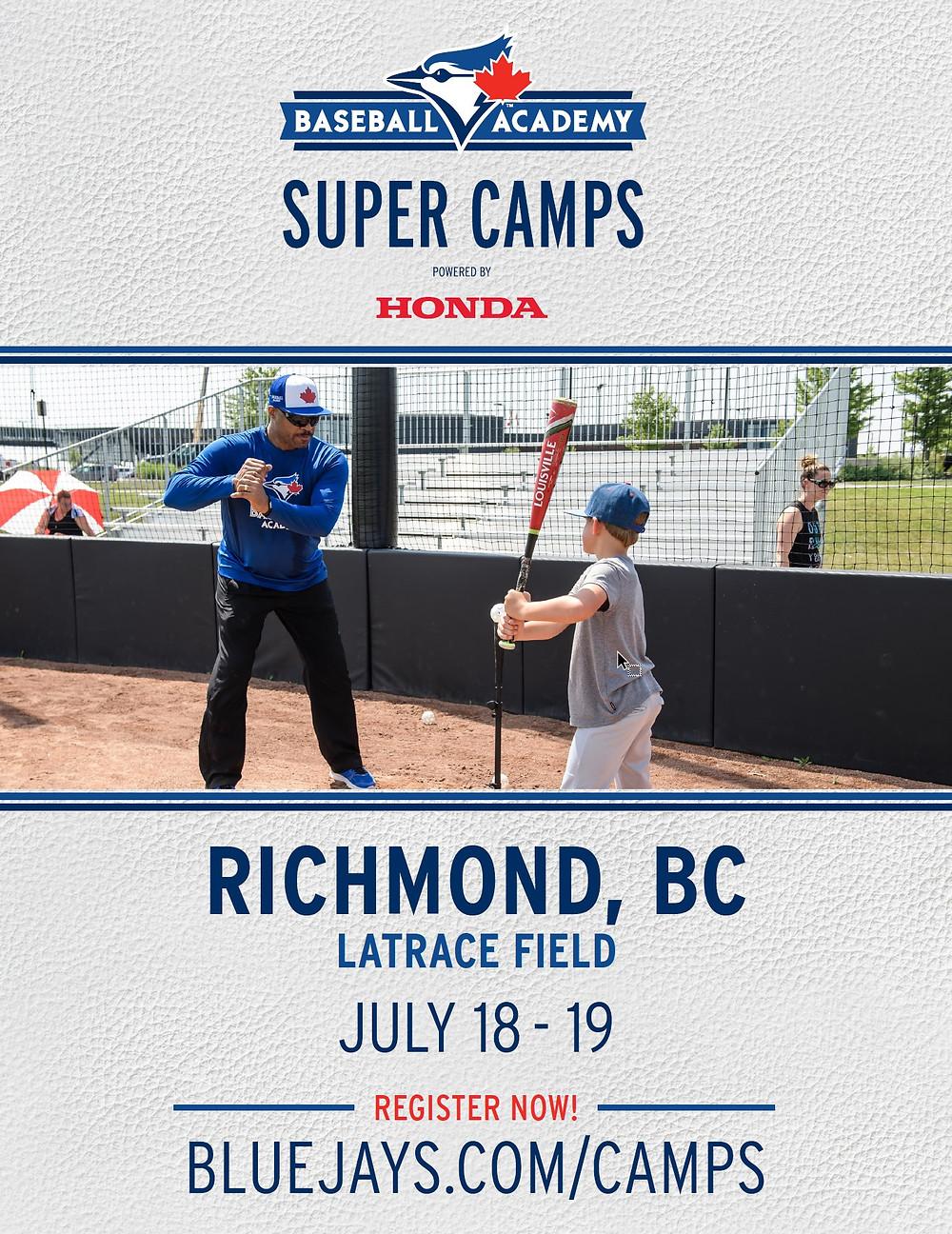 Blue Jays Camp Poster