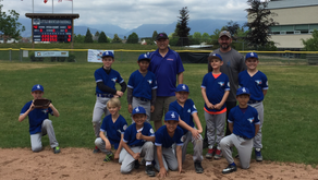Jericho Major C Blue Jays post a 12-9 win over LMB at the Chris Havard Tournament