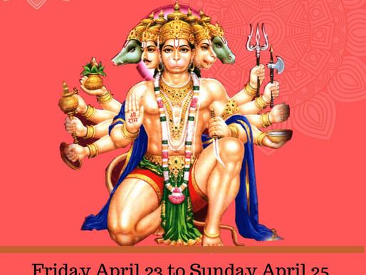 Sundar Kaand Katha and 108 Hanuman Chalisa
