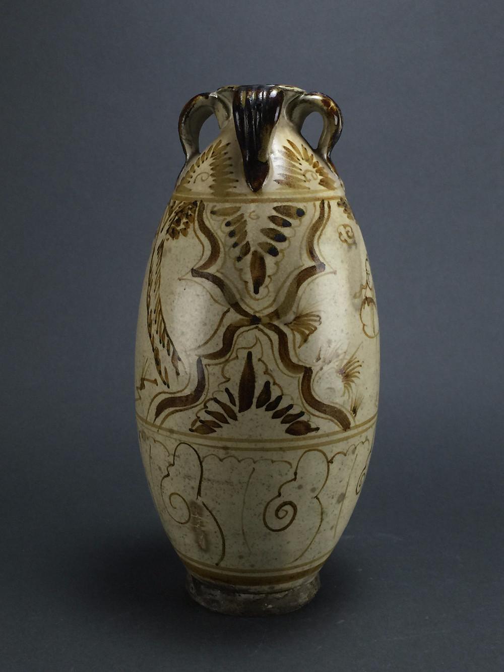 "Song Dynasty ""Scholars"" Vase"