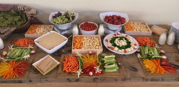 Country Theme Appetizers