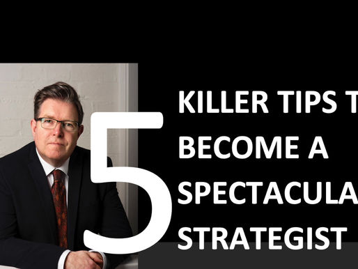 5 tips to become a Spectacular Strategist