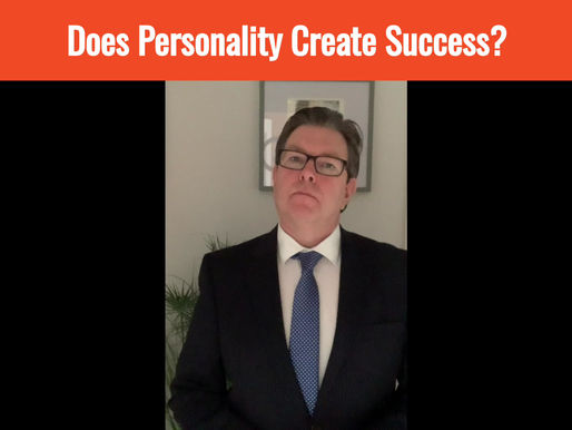 Does Personality Create Success?