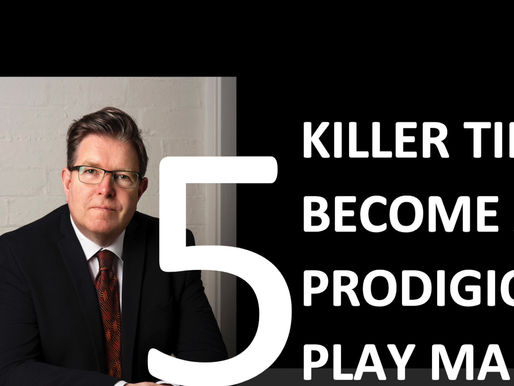 Want to be a Prodigious Play Maker? Check out these 5 tips...
