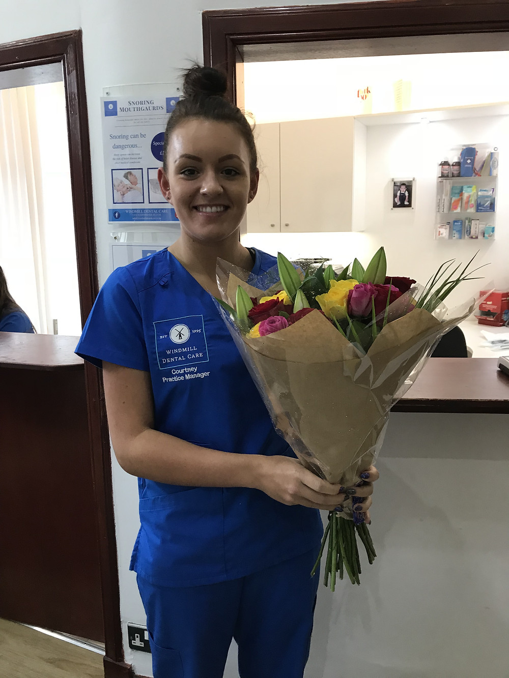 Courtney - Practice Manageress Windmill Dental Care