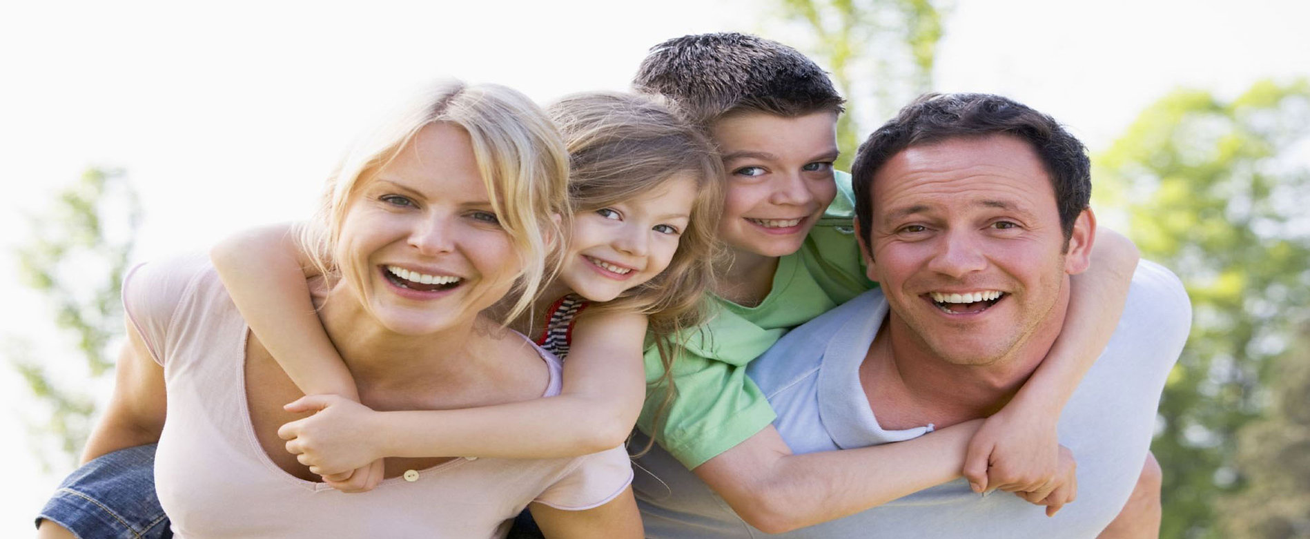 Family dentistry,Caring dentistry,New patients,Mother,Father, Dughter,Son, smiling family, tooth whitening