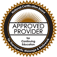 Massage Therapy Approved Provider NCBTMB
