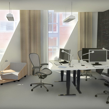 Interior for an office building