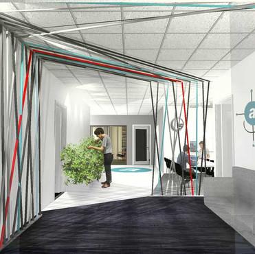 Interior for an office in Gothenburg