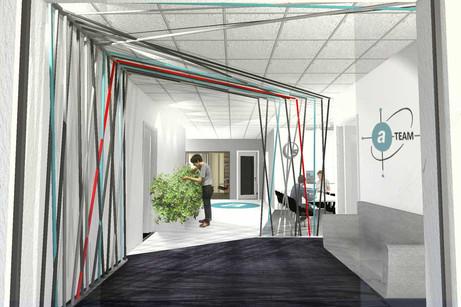 Idea for an office entrance