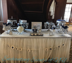 love is sweet candy table