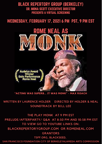Rome Neal as MONK