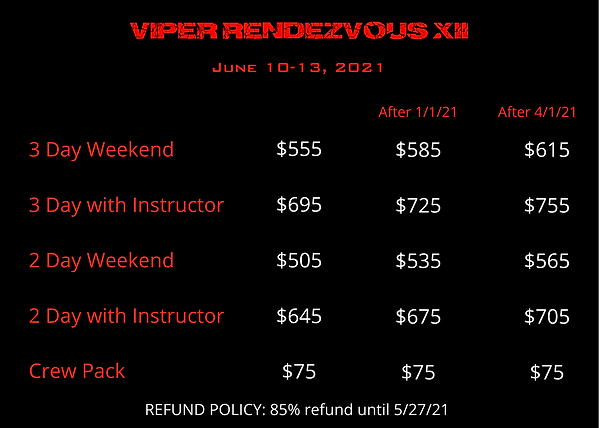 Viper Rendezvous XII Price.png
