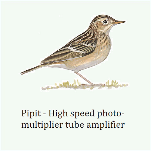 Pipit. Works with most standard PMTs.
