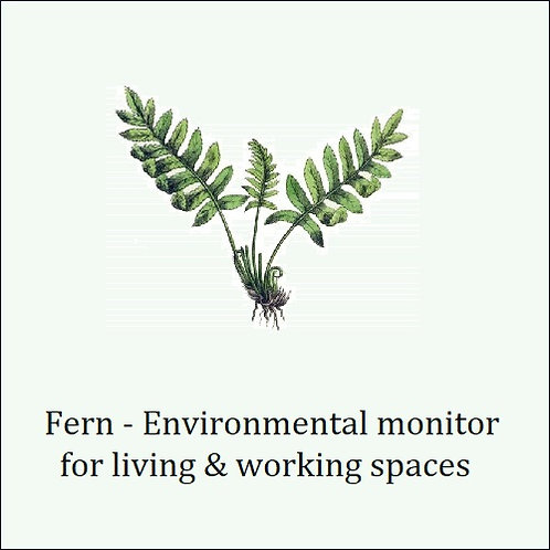 Fern. Assures safe breathing air in interior locations.