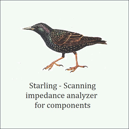 Starling. Measures complex impedance over scan frequency range.