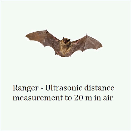 Ranger. Rugged & highly accurate measuring in air.