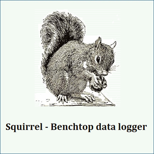 Squirrel. Two autoranging fast analog channels and deep memory storage.