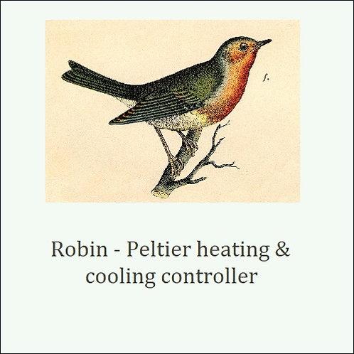 Robin. Precise temperature sensing & PID control.