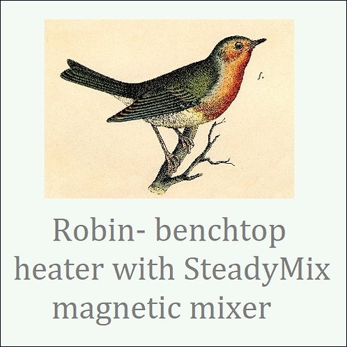 Robin. Precise temperature heater pad with magnetic mixer.