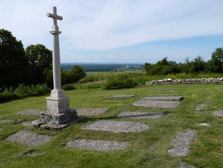 La croix de Saint Martin du mont