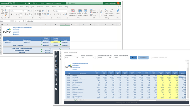 Top Excel Features to Look for in the Best Planning and Financial Reporting Software Apps
