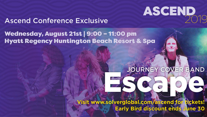 Join Us at Ascend 2019—Take Your Next Journey to BI360 Growth