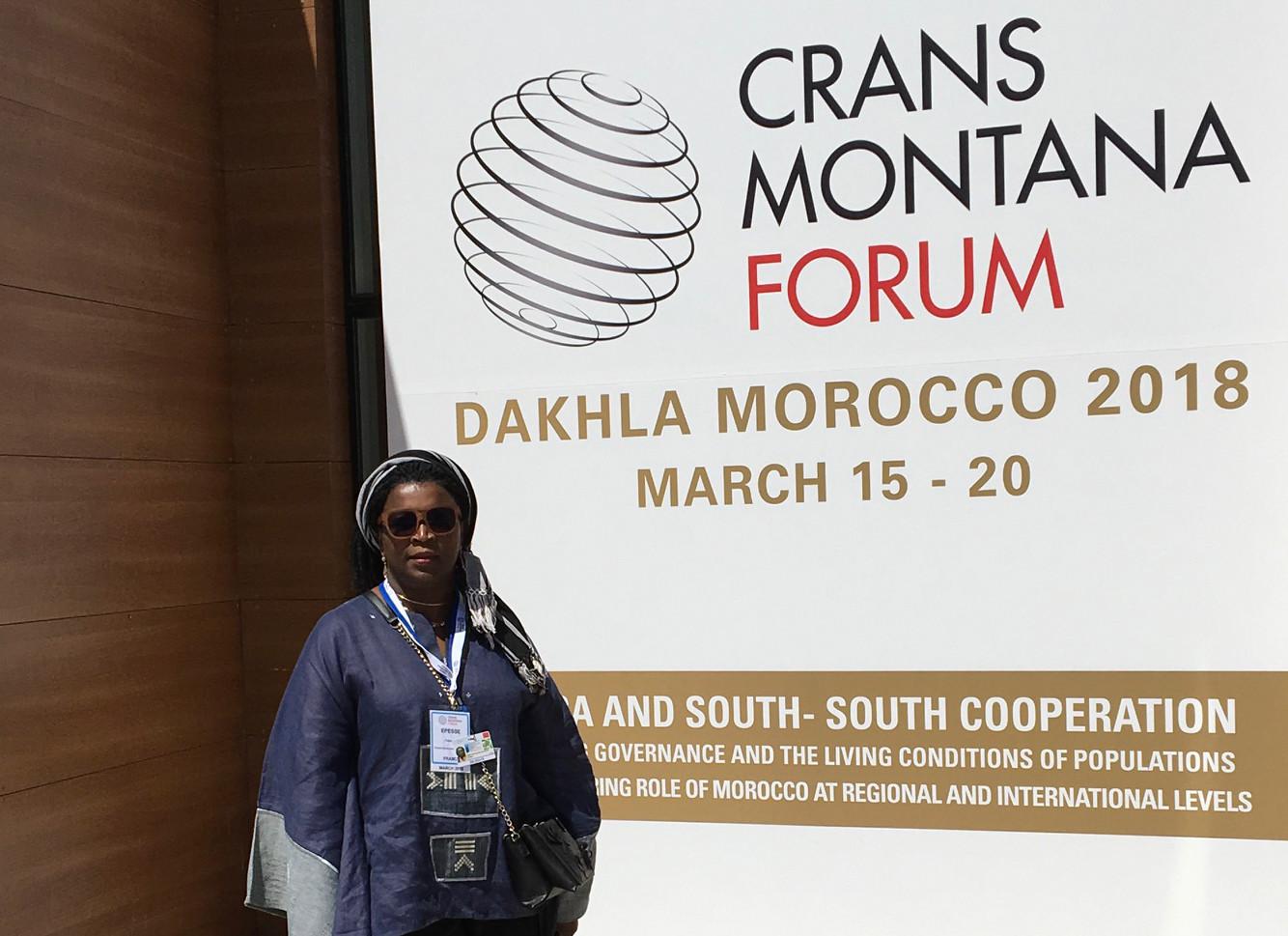 Forum de Crans Montana 2018 Dakhla (Maroc) 2018