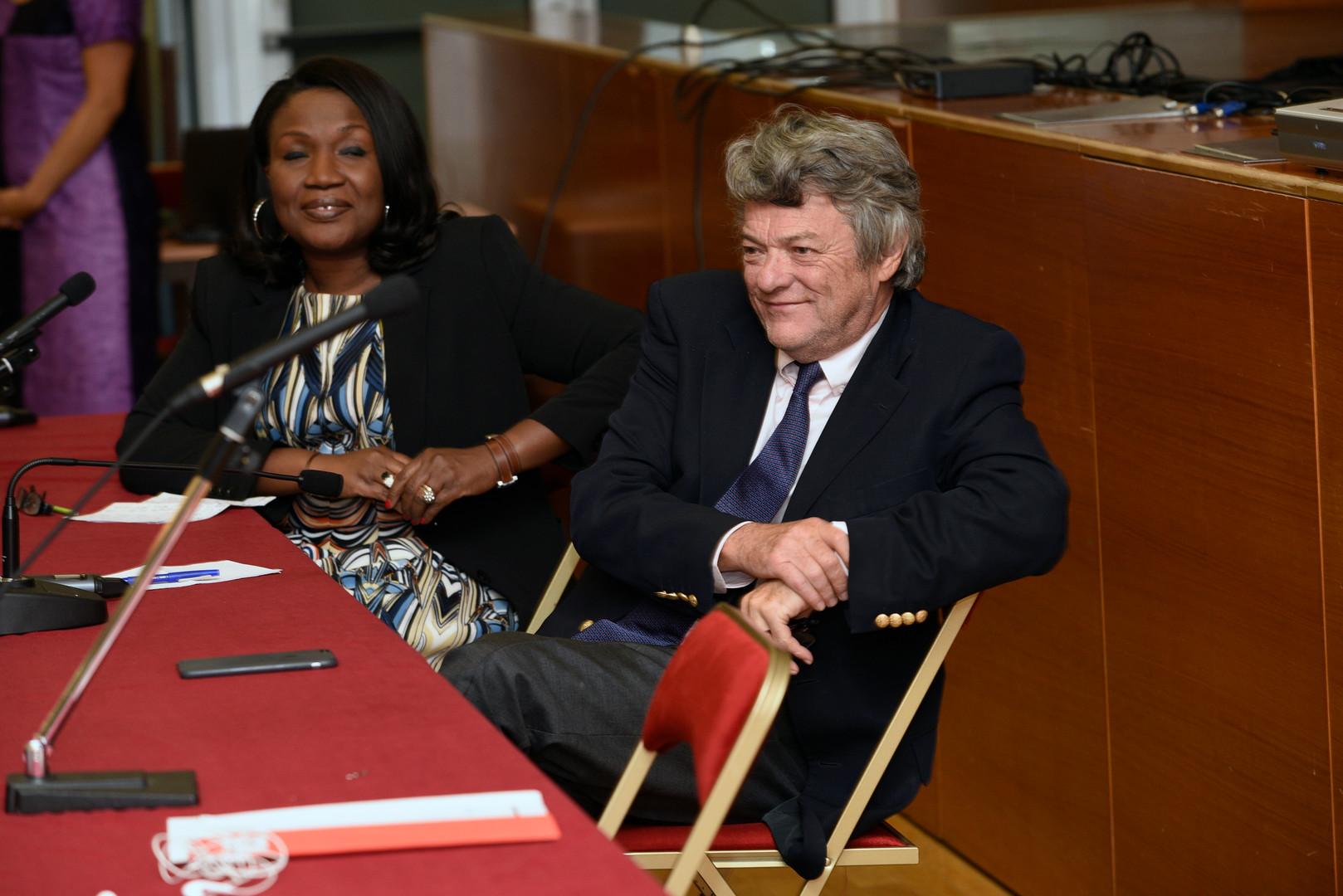 Jean-Louis Borloo et Olga Johnson