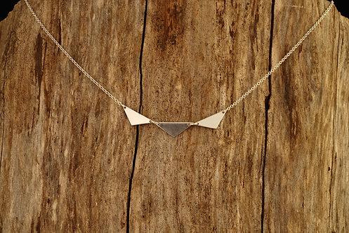Horizontal Triple Triangle - Plain - WHOLESALE