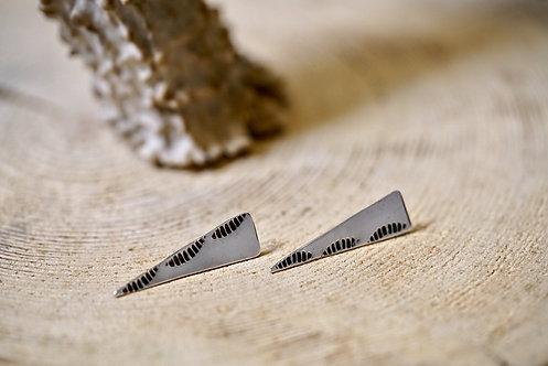 Wave Dagger Earrings